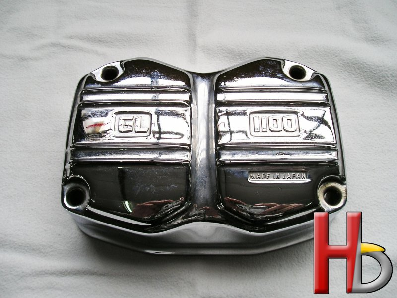 chrome cylinder head cover Goldwing GL1100