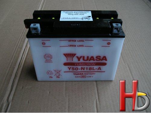 Yuasa accu Goldwing GL1000 GL1100 GL1200