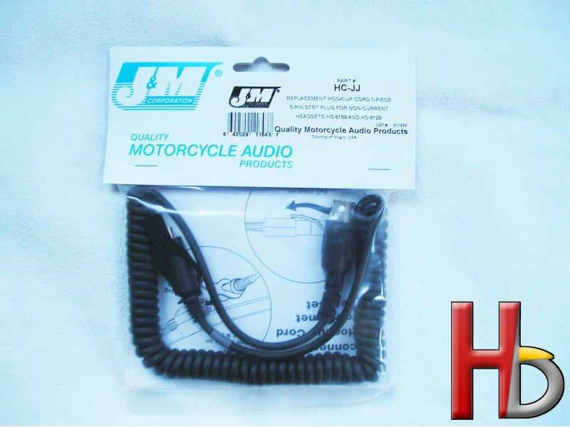 J&M snoer headset HC-JJ