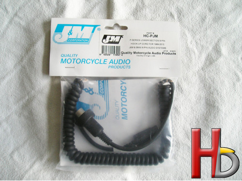 J&M replacement cord headset HC-PJM