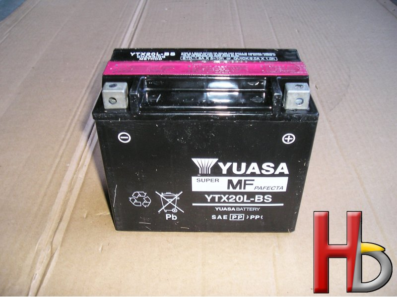 Yuasa battery Goldwing GL1800