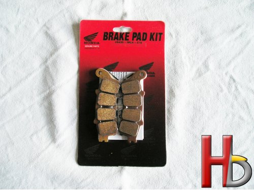 Rear brake pads Goldwing GL1800