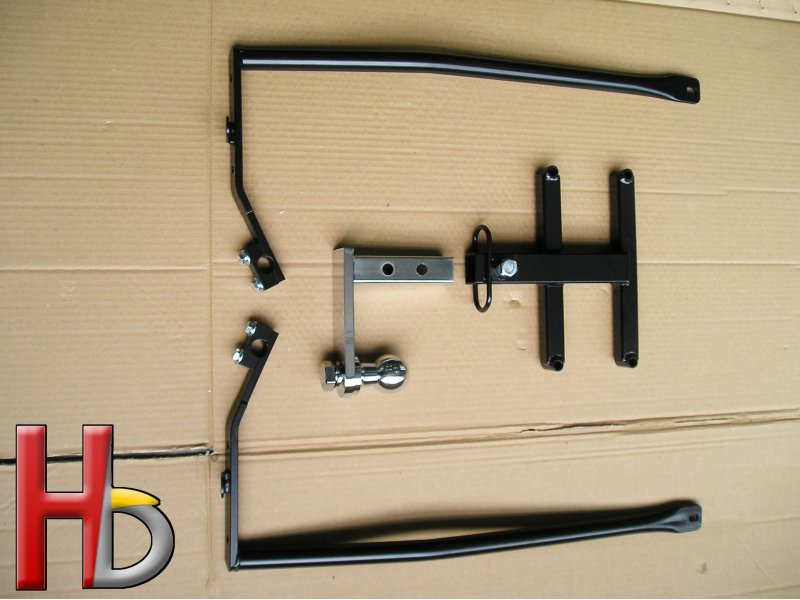 Receiver hitch Goldwing GL1800