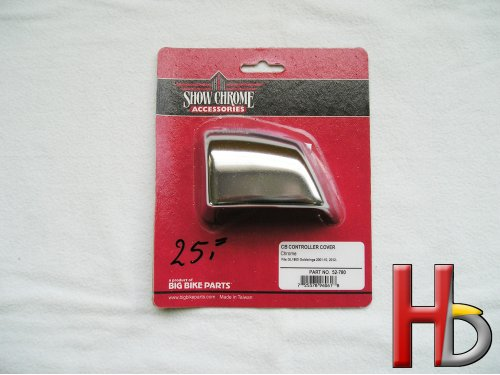Chrome CB controller cover Goldwing GL1800