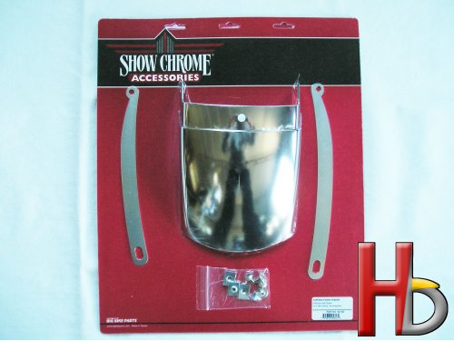 Chrome front fender extension GL1800
