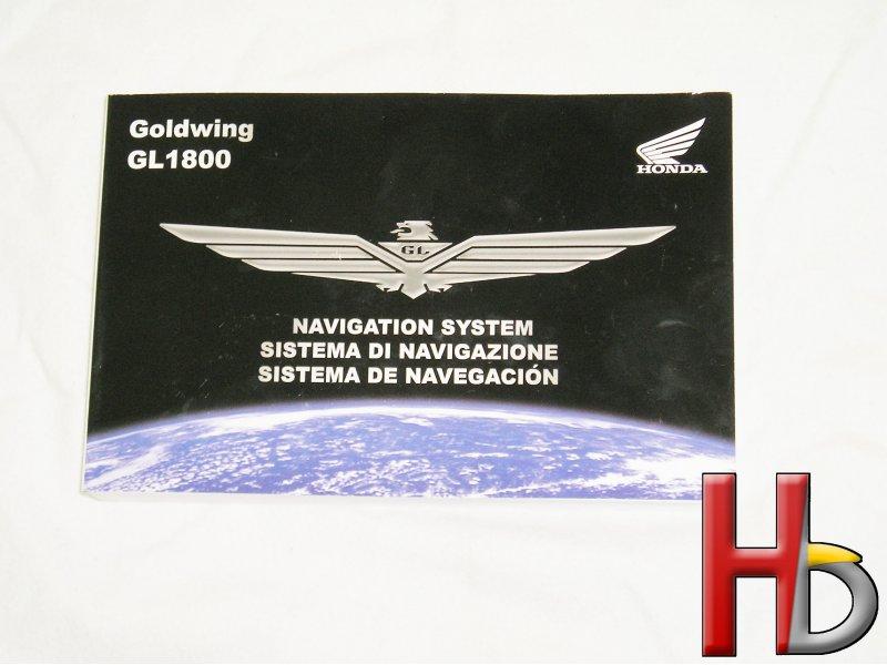 Handleiding navigatie Goldwing GL1800