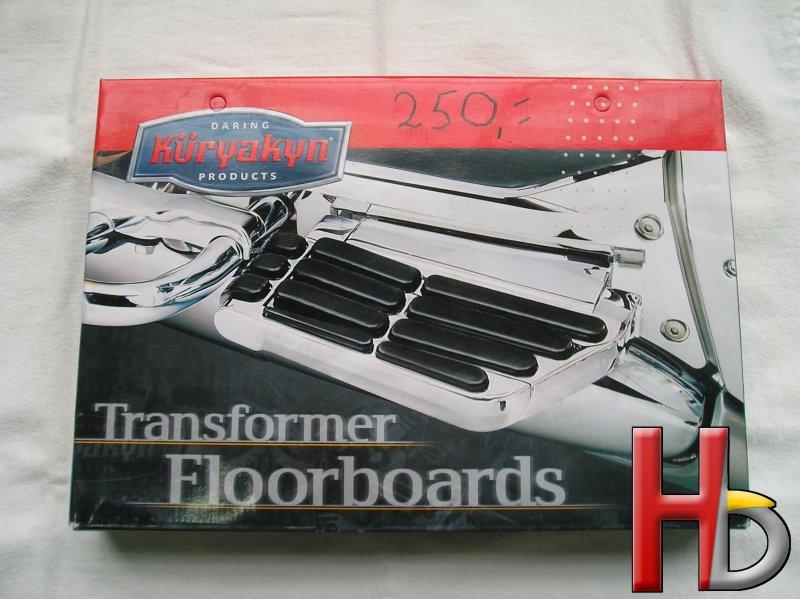 Passenger tfloorboards Goldwing GL1800