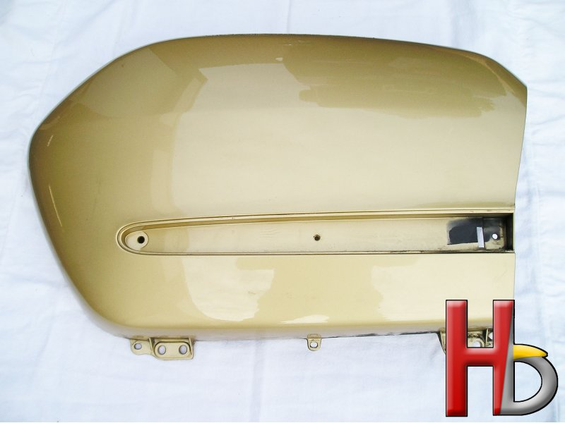 Lid left saddlebag Goldwing GL1800.