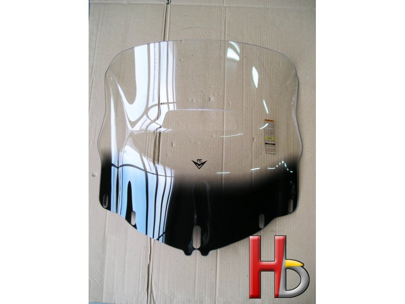 V-stream windshield with hole vent Goldwing GL1800