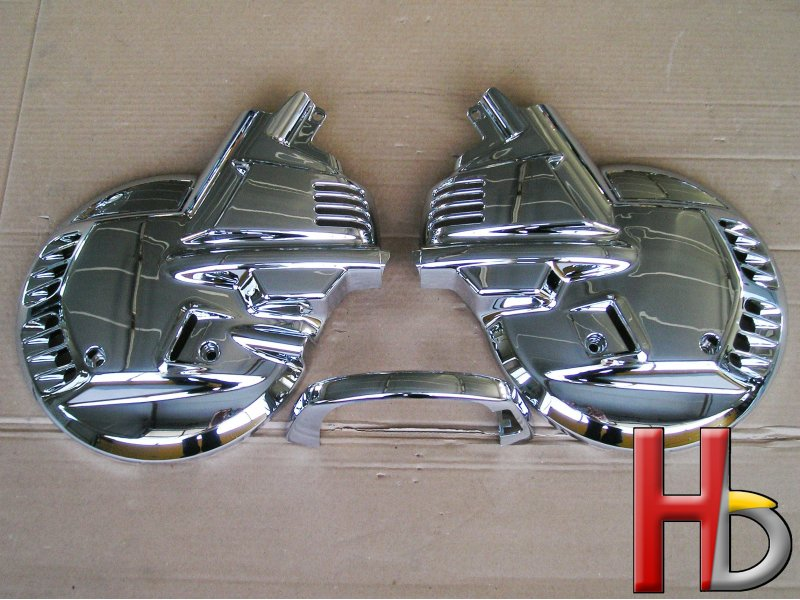 Chrome brake disc covers Goldwing GL1500