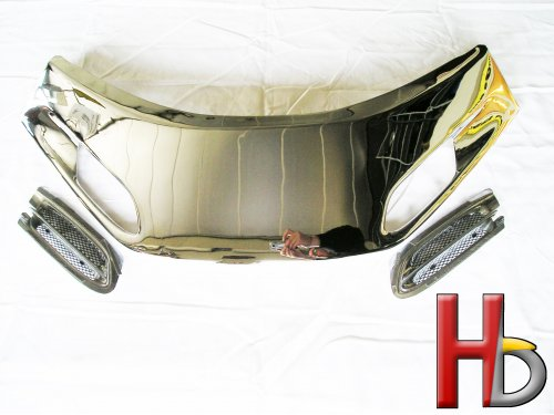 Chrome windshield garnish Goldwing GL1500