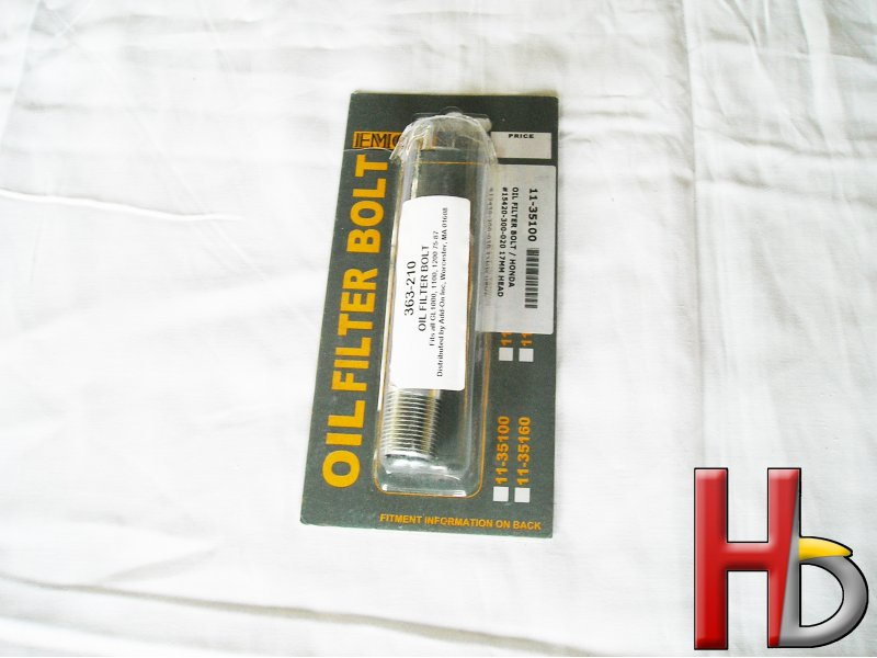 Oil Filter Bolt Goldwing GL1000 GL1100 GL1200