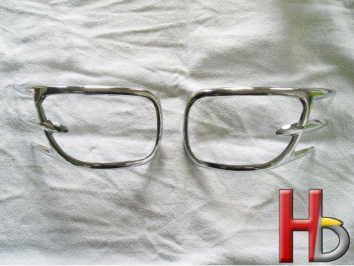 Chromen accent spiegels Goldwing GL1800