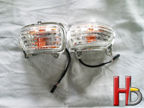 Clear turn signals Goldwing...