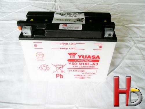 Yuasa Accu Goldwing GL1500