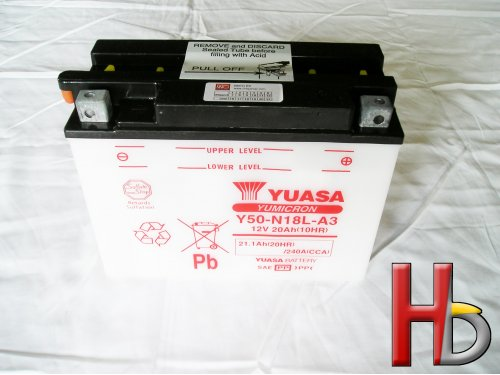 Yuasa Battery Goldwing GL1500