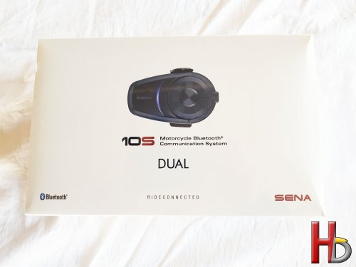 Sena 10S bluetooth headset duo