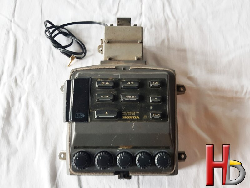 radio with aux cable Goldwing GL1500