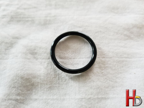 O-ring achter cover...
