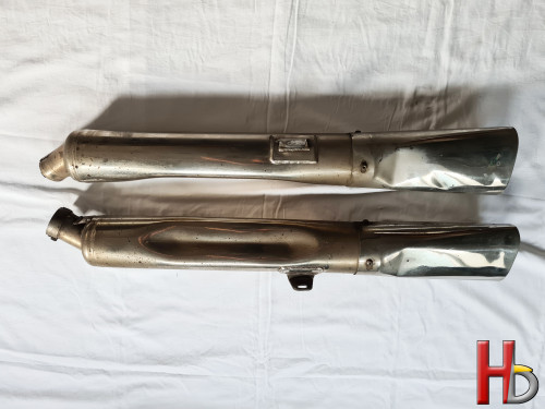 RVS exhausts Goldwing GL1500